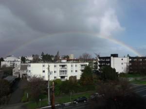 rainbow in victoria